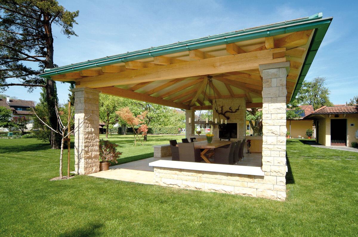 Gartenhaus Mit Sommerküche : Gartenhaus sommerküche: gartenhäuser individuell mit holz gestalten